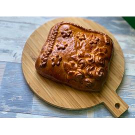 Пирог с Картофелем, грибами и сыром