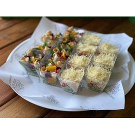 Ассорти салатов « Легкая закуска» 14шт