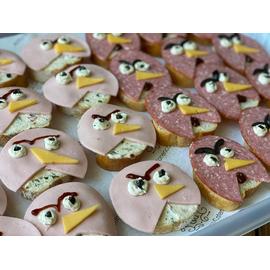 Детские бутерброды Angry Birds 24 шт